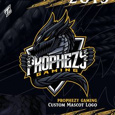 "222 Suka, 10 Komentar - Trout™ 🇦🇷 (@troutgraph) di Instagram: ""Golden Dragon - Esports mascot logo design for @prophezygaming 🐲✨ . . • Leave me a LIKE if want…"""