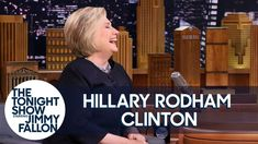 "Hillary Clinton on Kate McKinnon and Alec Baldwin's ""Amazing"" SNL Impressions Michelle Pfeiffer, Kristen Stewart Interview, Kate Middleton Dress, Hillary Rodham Clinton, Kate Mckinnon, Learning To Write, Jimmy Fallon, Marketing, Her Hair"