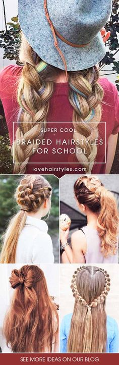 Back to school hairstyles can be fun and versatile, too. All you need is to find your source of inspiration. Click to choose something for you!