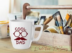 Cool Dad, Father's Day Gift, Dad Birthday Gift, Best Dad Ever Mug, Father's Day Cup, Funny Dad Present, For the Dad with Everything by Cre8tiveDeZinez on Etsy