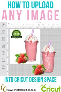 cricut hacks This simple way to upload images into Design Space works with both a Windows PC and a Mac. The steps are just a little different for each. How To Use Cricut, Cricut Help, Cricut Air 2, Cricut Vinyl, Cricut Fonts, Cricut Ideas, Cricut Tutorials, Space Words, Cricut Explore Projects