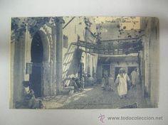 Antigua postal de Tetuán, un rincón típico (Ed. M Arribas)