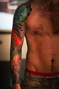 irezumi,horimatsu,Matti Sedholm, japanese tattoo, ryu, japanese dragon (1 of 3)