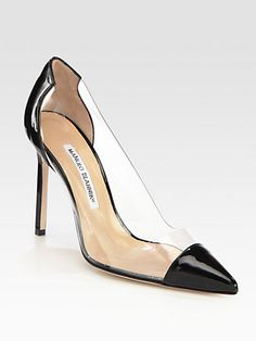 Manolo Blahnik    Pacha Translucent & Patent Leather Pumps AED 2548 http://www.saksfifthavenue.com/main/ProductDetail.jsp?FOLDER%3C%3Efolder_id=2534374306418049%3C%3Eprd_id=845524446538359=452424326769_name=Manolo+Blahnik=4294911160+306418049=jOJvkwI