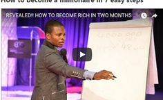 How to become a millionaire in 7 easy steps | Voice of Dominion