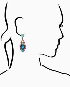 Haley Heartbreaker Dangle Earrings