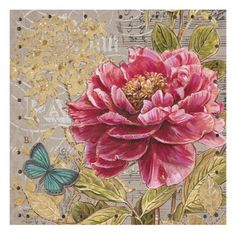 This botanical print is a beautiful piece to add to any wall. The vivid colors of the wall art are a true inspiration for that botanical still life. Chad Barrett, Decopage, Nostalgic Art, Framed Artwork, Wall Art, Tea Art, Graphic Design Projects, Vintage Paper, Botanical Prints