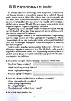 MESÉLŐ SZÖVEGÉRTÉSI MUNKAFÜZET 2. OSZTÁLY - tanitoikincseim.lapunk.hu How To Make Paper, Worksheets, Teaching, Personalized Items, School, Prints, Dyslexia, Literacy Centers, Education