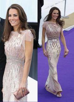 Kate Middleton Wore Princess-y Jenny Packham - Google Search