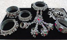 Wholesale Lot of 6 Vintage Kuchi Bracelets by 7SISTERStradingco, $42.50