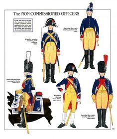 I Sottufficiali della gendarmeria a cavallo della guardia imperiale