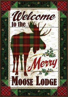 garden house flags. custom decor flag - merry moose decorative at garden house flags
