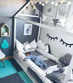 Tipos de peinados,chicas tumblr,frases cortas y Outfits.✌💖😍 #detodo # De Todo # amreading # books # wattpad Baby Boy Room Decor, Baby Room Diy, Baby Bedroom, Baby Boy Rooms, Nursery Room, Dream Bedroom, Kids Bedroom, Diy Baby, 4 Year Old Girl Bedroom