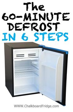 How to Defrost a Mini Fridge, you should do this at least twice a year! How to Defrost a Mini Fridge, you should do this at least twice a year!
