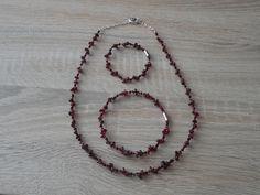 náramek, náhrdelník - nylonové lanko.  Beads necklace and bracelets
