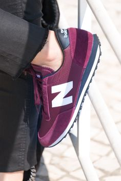 burgundy new balances.