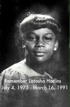 "A tale untold and not known by many.   American Aboringine,  15 year old Latasha was shot in the head by a Korean store owner who thought she was stealing. After killing her she found the money in her hand. She served no prison time... Tupac used to speak about this :(  ""Cuz here on earth, tell me what's a black life worth, a bottle of juice is no excuse. The truth hurts"" -2pac R.I.P. Latasha Harlins."