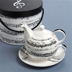 Adagio Tea For One Set at The Music Stand- cute!