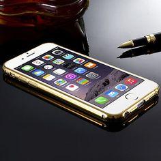 De Lujo Aluminio Ultradelgada Espejo Metal funda para Apple iPhone Modelos