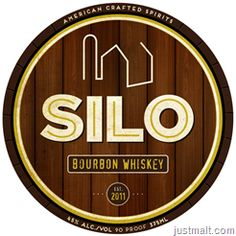 American Crafted Spirits Silo Bourbon Whiskey