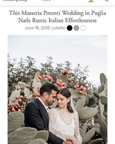 Today we are on @junebugweddings!  Thanks for posting Julian and Elisabeths wedding on blog! A super special thanks goes to @masseriapotenti and our beloved and inimitable @elisabettalillyred   Videography  2become1 @vladymoraru @jessicaballeriniwwl  Photography  @elisabettalillyred  Venue Event Planning and Floral Design  @masseriapotenti  Live Music  @festivalmibely  Makeup Artist and Hair Styling  PhilippVerheyen Wedding Dress  Vintage gown restored by Franziska Burgert Atelier Bridal…