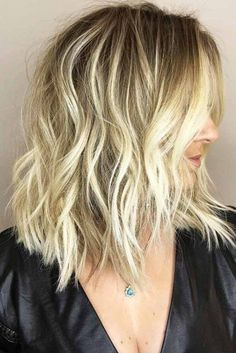 Medium Hairstyles with Balayage Picture 6