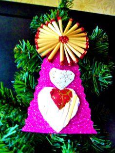 Déco en paille pour décoration du sapin Noël : Accessoires de maison par ninita-nikolina