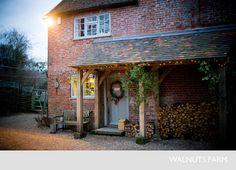 walnuts farm oak porch