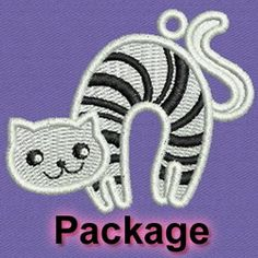 FSL Cats machine embroidery designs