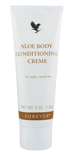 Forever Living - Aloe Body Conditioning Creme. Helps stimulate the circulation and reduce the appearance of cellulite. Works as an effective massage cream and an ideal partner to Aloe Body Toner for a smooth supple body.