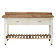 Terrain Bakers Work Table #shopterrain- a perfect addition to my future kitchen :)
