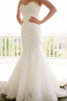 Enzoani Real Bride  http://southernweddings.com/2014/06/16/grace-meadows-farm-wedding-by-andrew-allen-morton/