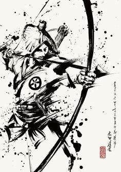 迫力 Hijab hijab l hob Ninja Kunst, Samurai Artwork, Ninja Art, Japanese Warrior, Japanese Tattoo Art, Japanese Illustration, Samurai Tattoo, Desenho Tattoo, Samurai Warrior