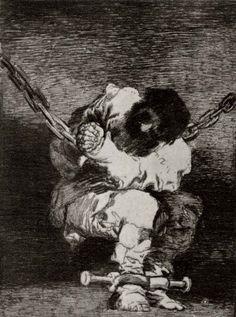 Goya y Lucientes, Francisco de: Preso (I)