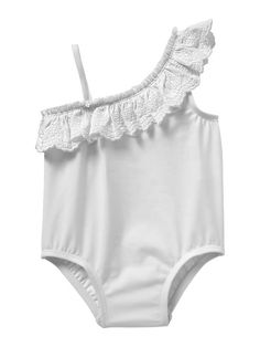 Baby Swimwear - Eyelet One Piece