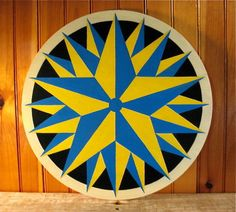 Nautical Star Hex Sign