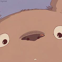 Here's a Totoro smile to brighten up your day! | Totoro | Miyazaki | Studio Ghibli