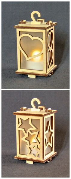If you have access to a laser cutter, you can make as many lanterns as you like…