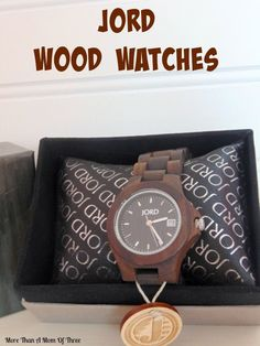 COol Wooden Watches - JORD wood watches are something like no other watch for men or women that want something different and they would make a great gift for anyone that loves watches.#jordwatch -  - Who Wooden? Who Wouldn't!