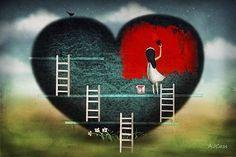 @mamisblu Cuori, #DonneInArte e Cielo