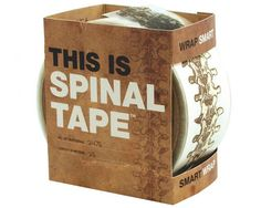 This tape goes to 11!    Our This is Spinal Tape is a handy spinal cord on a roll, containing approximately 2745 vertebrate on it's 25 meter spool.Image the spine tingling suspense it would create if used for wrapping a present of epic proportions.  Or just roll some out, when you feel like you're lacking a backbone!Use this tape to seal and stick with endless sacral style. Made in the USA.  25 meters of useful packing tape.