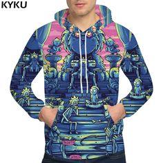 728f075de67 KYKU Rick And Morty Hoodies Dog 3d hoodies Sweatshirts Male Sweat shirt  Clothing Hoodie Men Hip Hop Funny Hoody Man