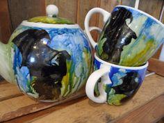 ZESTAW DLA DWOJGA Mugs, Tableware, Art, Art Background, Dinnerware, Tumblers, Tablewares, Kunst, Mug