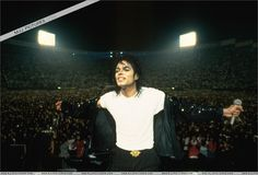 One of my favorite pictures of Michael--in his element.
