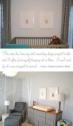 Love creative changing table ideas and simplistic design. Perfect.