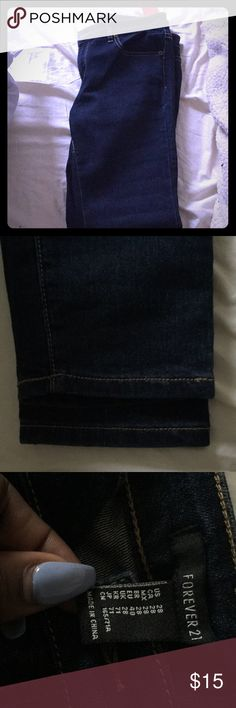 Forever 21 jeans Brand new with tags (size too small for me) Forever 21 Jeans Skinny