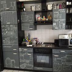 beautiful organized kitchen.
