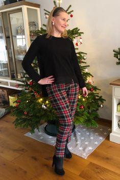 Tartan Leggings, Holiday Looks, Festival Fashion, Satin Finish, High Waist, Harem Pants, Europe, Style Inspiration, App