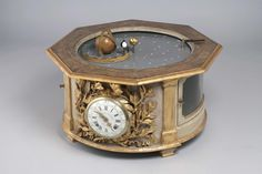 A tellurion orrery by Claude-Simenon Passement. Paris, circa 1765. I love it!