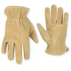 CLC Work Gloves - Kids Split Cowhide Driver